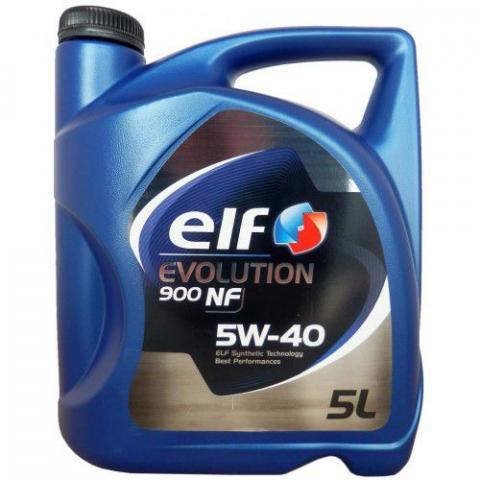 motorový olej ELF Evolution 900  NF 5W-40 5L.