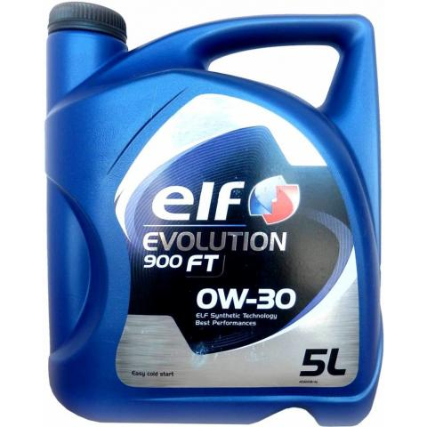 Motorový olej Elf Evolution 900 FT 0W-30 5l.