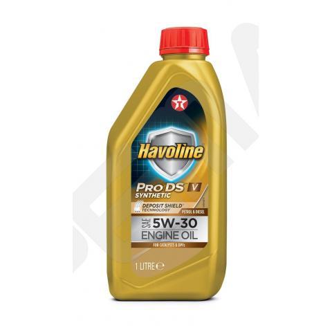 Motorový olej TEXACO Havoline ProDS V 5W-30 - 1l