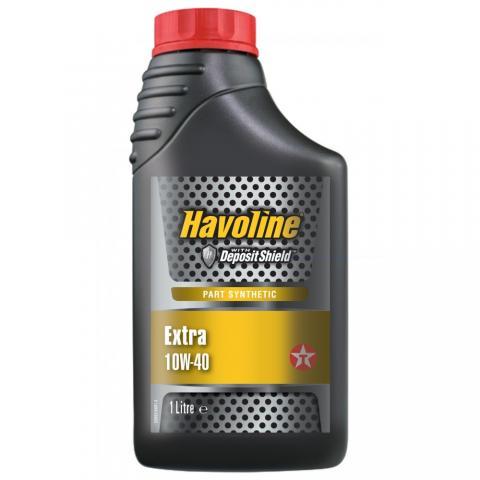 Motorový olej TEXACO Havoline Extra 10W-40 - 1l