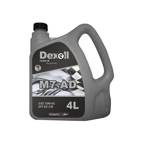 Motorový olej Dexoll 10W-40 M7 AD, 4L