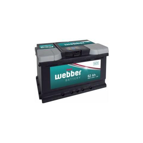 Autobateria Webber 12V 62Ah 540A
