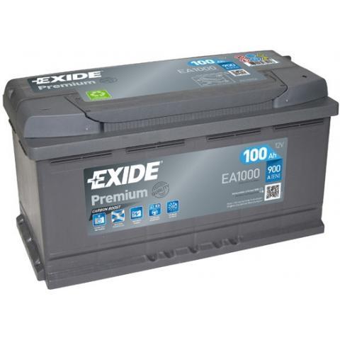 Autobatéria Exide Premium 12V 100Ah EA1000