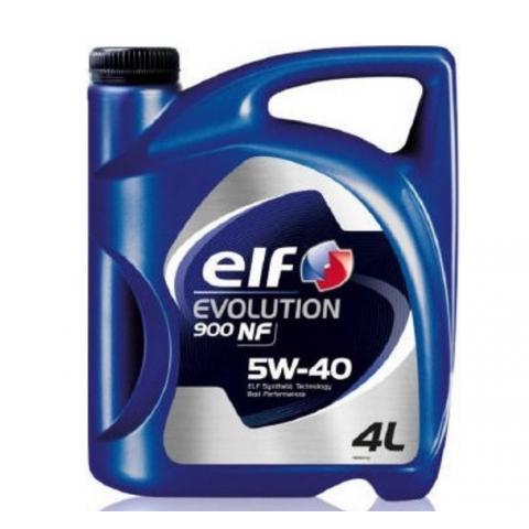 motorový olej ELF Evolution 900  NF 5W-40 4L.