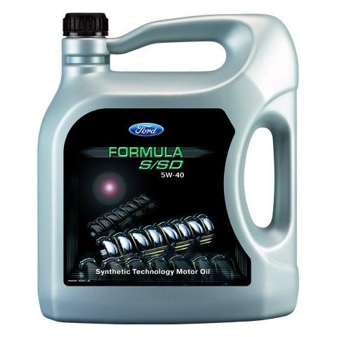 Motorový olej FORD FORMULA  S/SD 5W-40 5L.