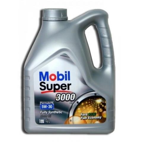 Motorový olej Mobil super 3000 formula fe 5w-30 4L.
