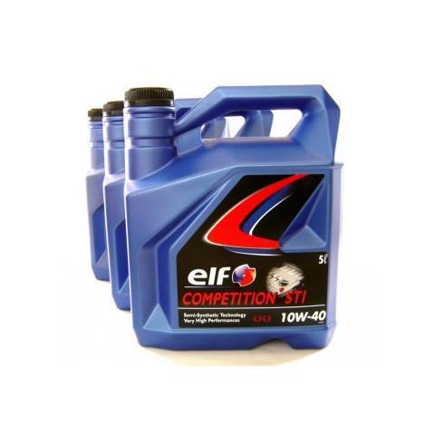Motorový olej ELF Evolution 700  STI 10W-40 3x5L