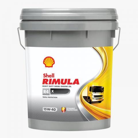 Shell Rimula R4 X 15W-40 20L