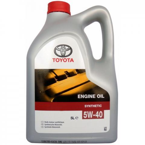 Motorový olej Toyota Engine Oil 5W-40 5 l