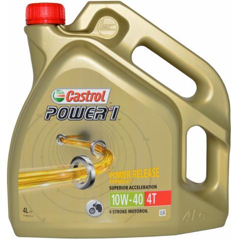 Motorový olej Castrol Power 1 4T 10W-40 4L.