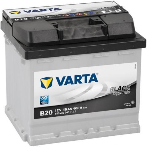 Autobatéria VARTA BLACK dynamic 12V 45Ah 400A B20t ľavá  , 545413040