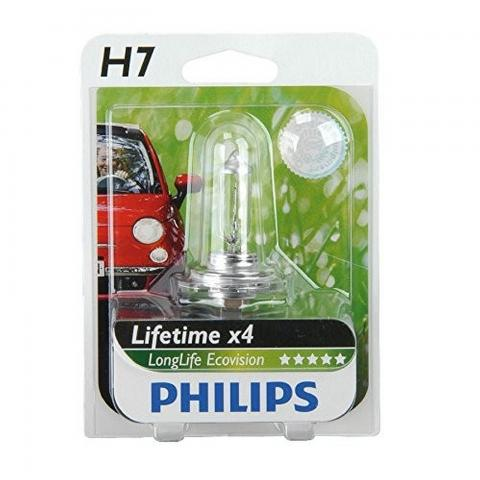 Philips 12V H7 55W LongLife Ecovision blister