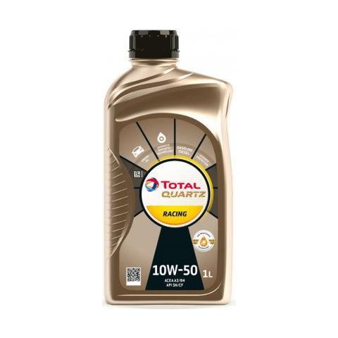 Motorový olej Total Quartz Racing 10W-50 1L.