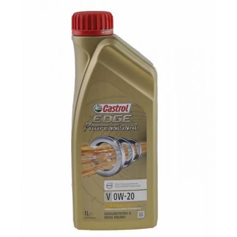 Motorový olej Castrol Edge Professional V 0W-20 1L.