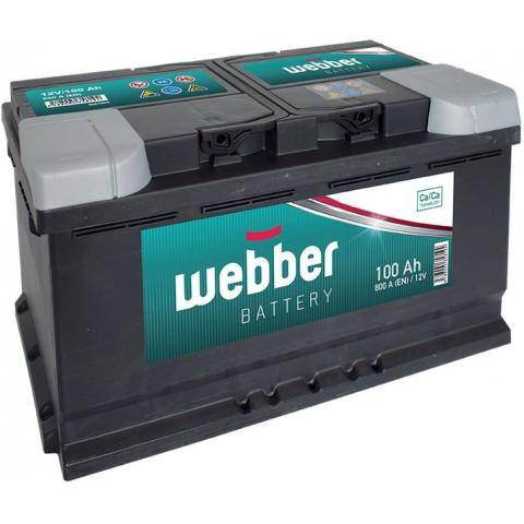Autobateria Webber 12V 100Ah 800A