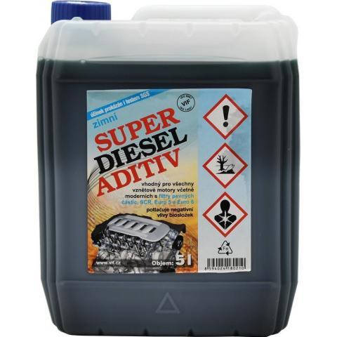 Vif Super Diesel Aditív zimný 10L. - VIF SDA 10L.
