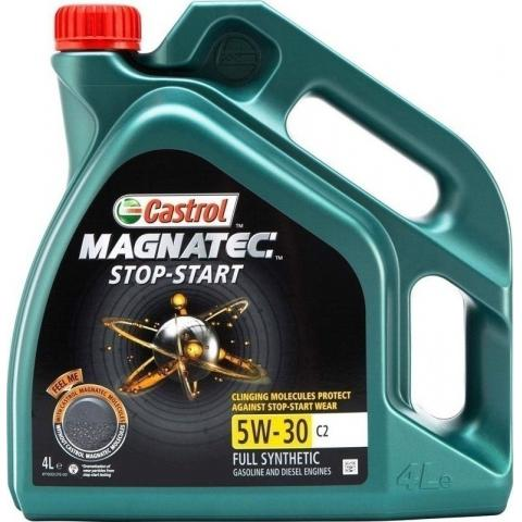 Motorový olej Castrol Magnatec 5W-30 C2 Stop-Start 4L