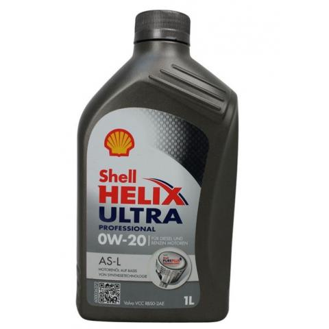 Motorový olej SHELL Helix Ultra Professional AS-L 0W-20 1L.