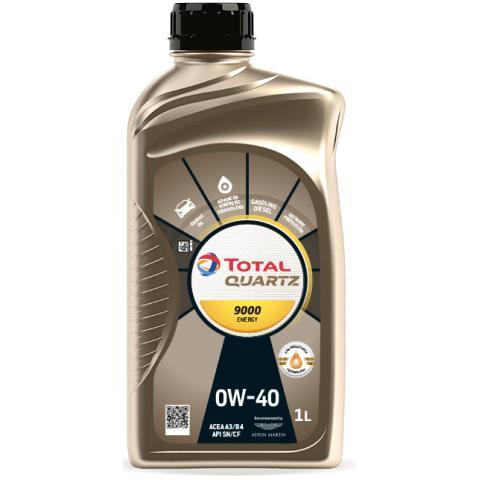 Motorový olej Total Quartz Energy 9000 0W-40 1L.