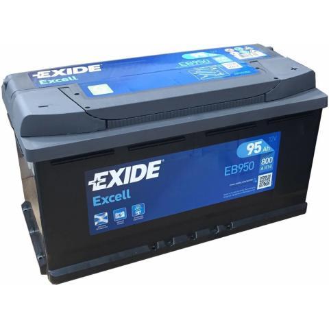 EXIDE EXCELL 12V 95AH 800A EB950