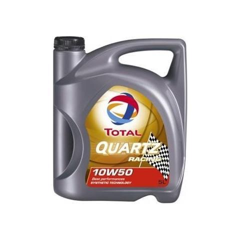 Motorový olej Total Quartz Racing 10W-50 5L.