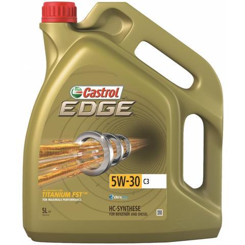 CASTROL Motorový olej CASTROL EDGE TITANIUM FST C3 5W-30 5L.
