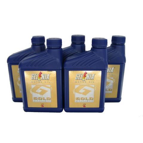Motorový olej SELENIA GOLD 10W-40 5L.