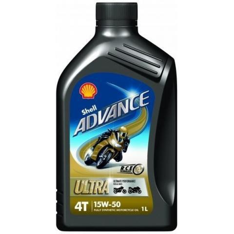 Motorový olej Shell Advance Ultra 4T 15W-50 1L
