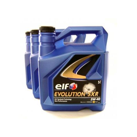 Motorový olej ELF EVOLUTION SXR 5W-40 3x5L