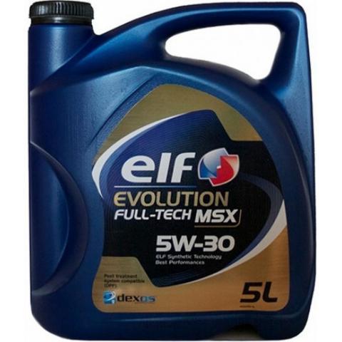 Motorový olej Elf Evolution Fulltech MSX 5W-30 5L.