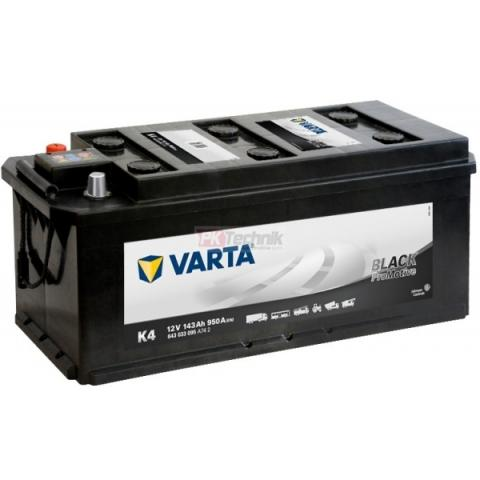 Autobateria Varta Promotive Black 12V 143Ah 950A, 643 033 095