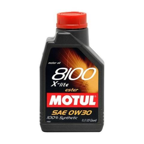 Motorový olej MOTUL 8100 X-Clean+ 5W-30 1L