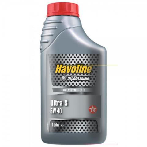 Motorový olej TEXACO Havoline Ultra S 5W-40 - 1l