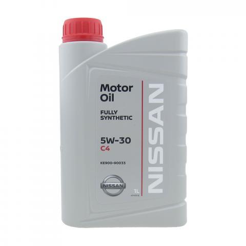 Motorový olej Nissan DPF C4 5W-30 1L.