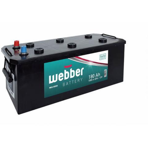 Autobateria WEBBER 12V/180 Ah 1000A