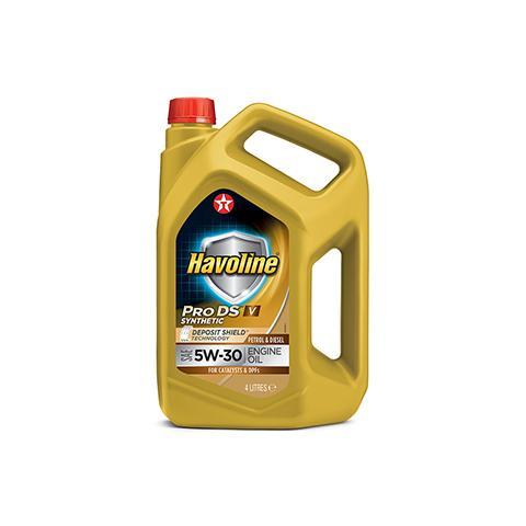 Motorový olej TEXACO Havoline ProDS V 5W-30 - 4L.