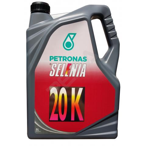 Motorový olej SELENIA 20K 10W-40 5L.