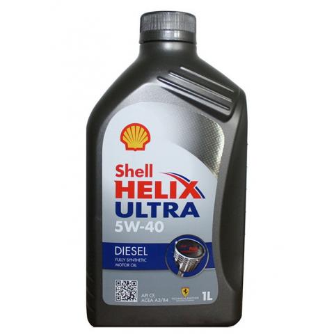 Motorový olej SHELL HELIX ULTRA DIESEL 5W-40 1L