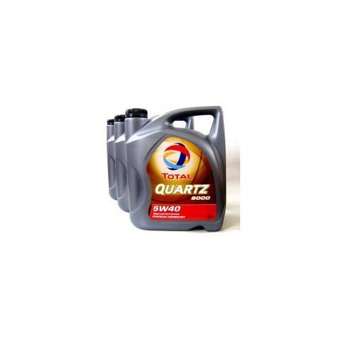 Motorový olej Total quartz 9000 5w-40 3x5l