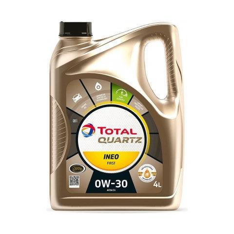 Motorový olej Total Quartz Ineo First 0W-30 4L