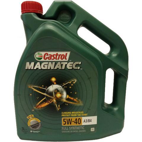 Motorový olej Castrol Magnatec A3/B4 5W-40 5L.