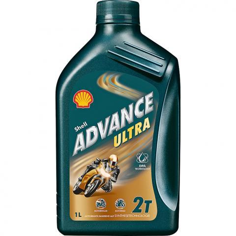 Motorový olej Shell Advance Ultra 2T 1L
