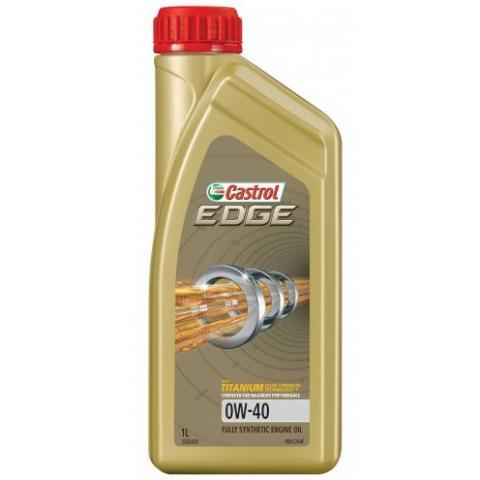 motorový olej CASTROL EDGE Titanium FST  0W-40 1L.