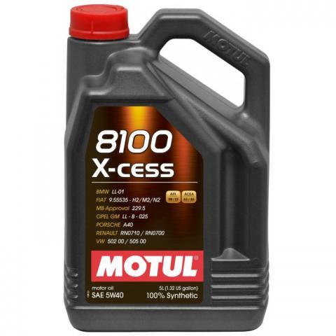 Motorový olej Motul 8100 X-Clean C3 5w40 5L