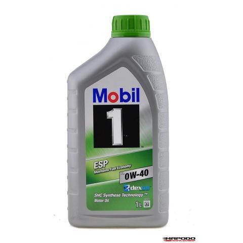 Motorový olej Mobil 1 ESP X3 0W-40 1L.