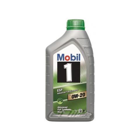 Motorový olej Mobil 1 ESP x2 0W-20 1L.