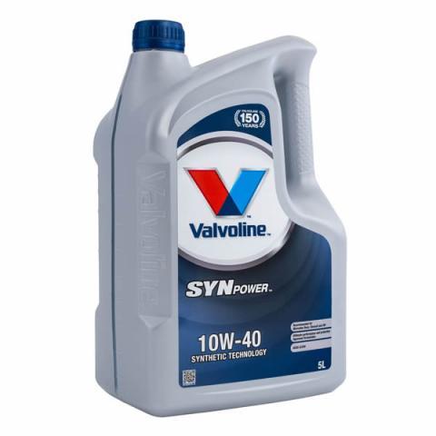 Motorový olej Valvoline Synpower 10W-40 5L.