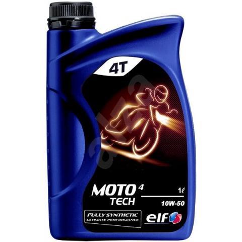 Motorový olej ELF MOTO 4 TECH 10W-50 1L