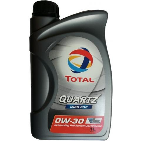 Motorový olej Total Quartz Ineo FDE 0W-30 1L.