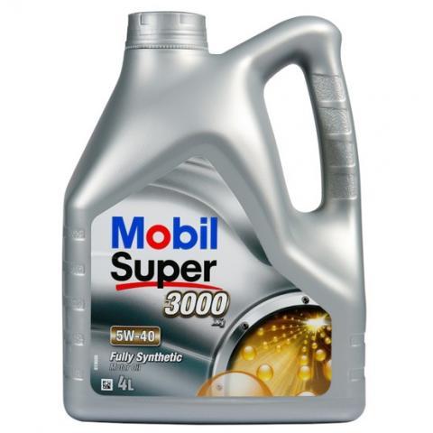 Motorový olej MOBIL SUPER 3000 X1 5W-40 4L.
